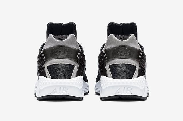 05008-011 Nike Air Huarache Woven 'Zebra' Black:White-White