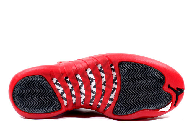 130690-161 Air Jordan XII  Cherry White:Varsity Red-Black