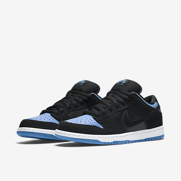 304292-048 Nike SB Dunk Low Pro Black:University Blue-White