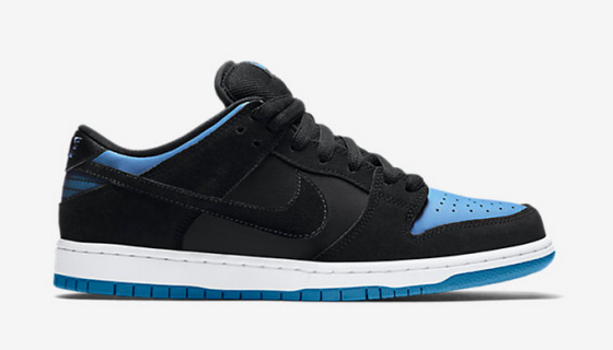 Nike SB Dunk Low Pro 'Black/University Blue-White'