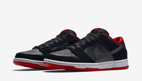 Nike SB Dunk Low 'Black Cement' – Images Officielles