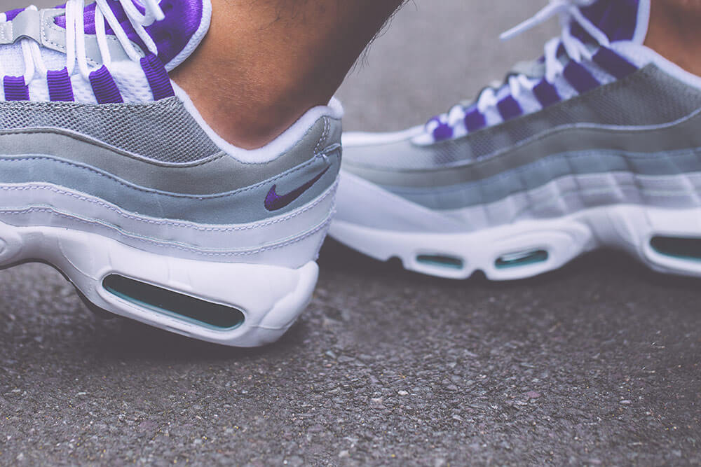 Nike Wmns Air Max 95 Grape Retro 2018 307960-109