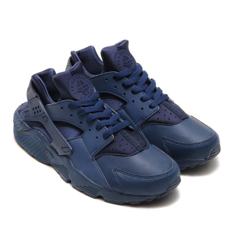 318429-440 Nike Air Huarache Midnight Navy