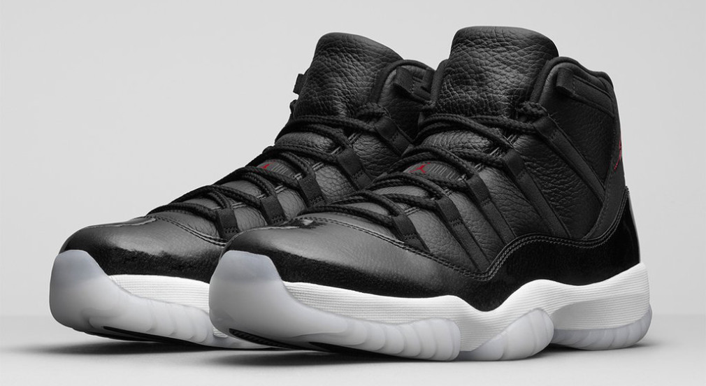 Air Jordan XI 72-10 Images Officielles