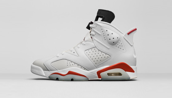 Une Air Jordan 6 Retro White Alternate pour 2017