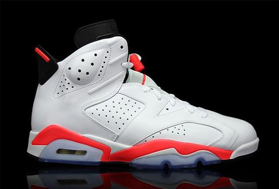 Jordan 6 White Infrared 384664 123