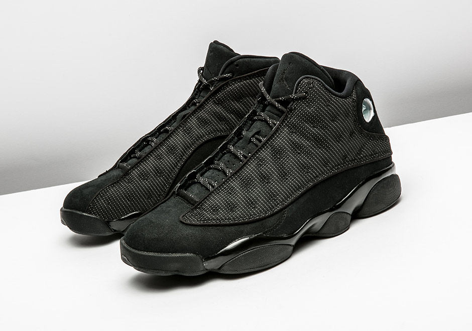 414571-011 air jordan 13 black cat