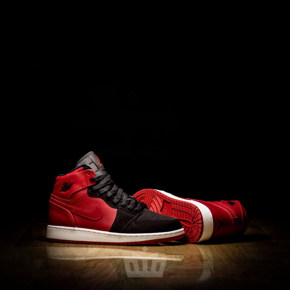Air Jordan Retro 1 Bred Junior