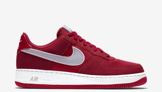 """Nike Air Force 1 """"Sport Red/Wolf Grey"""""""