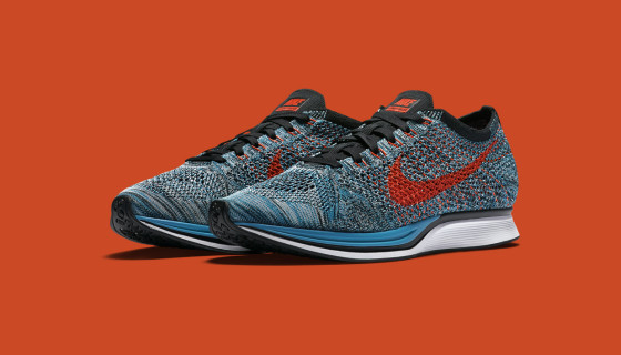 Nike Flyknit Racer Fire and Ice