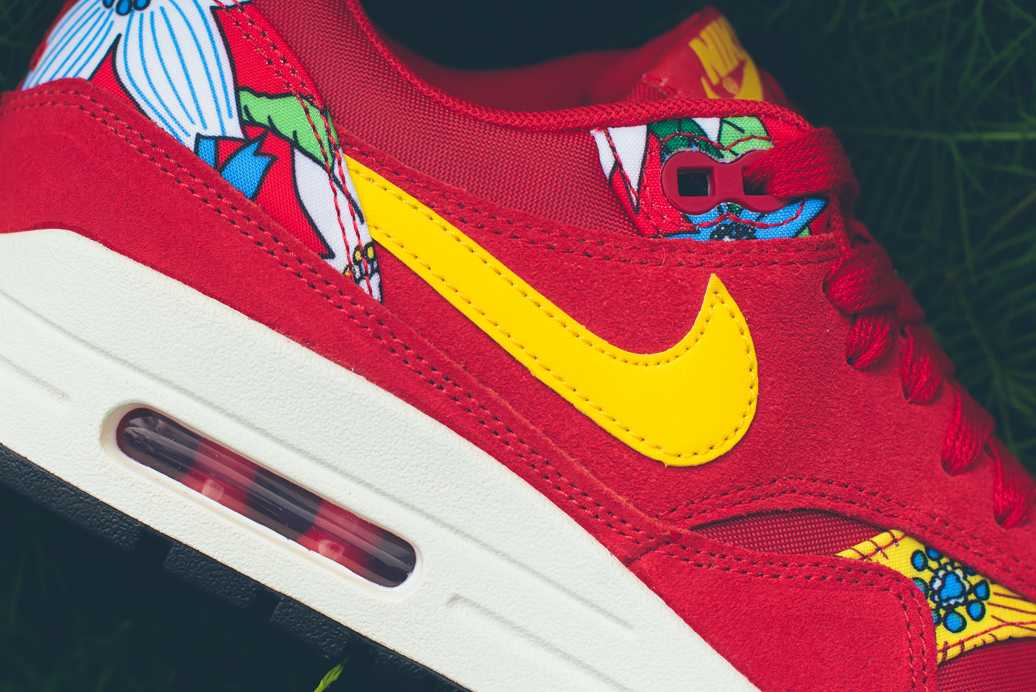 Nike Wmns Air Max 1 Print Quot Aloha Pack Quot Red Disponible