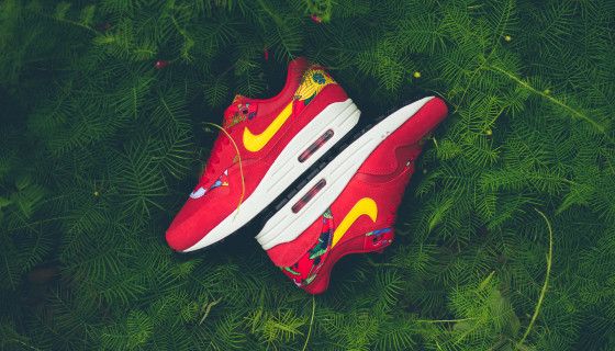 "Nike Wmns Air Max 1 Print  ""Aloha Pack"" Red – Disponible"
