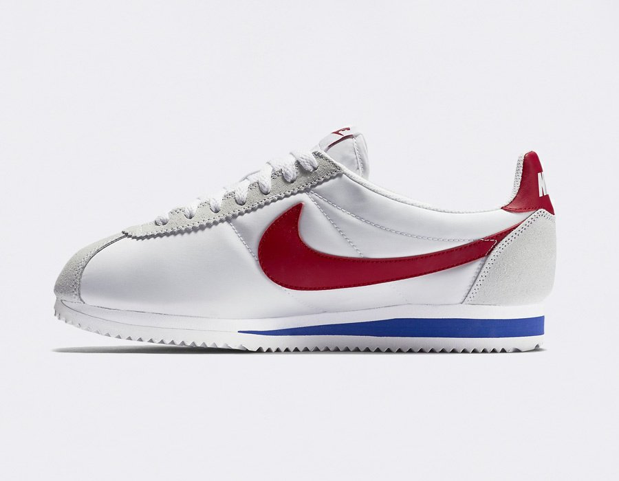Nike Cortez Nylon Forrest Gump Colorway