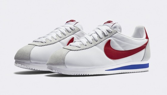 "Nike Classic Cortez Nylon ""Forrest Gump"" Colorway"