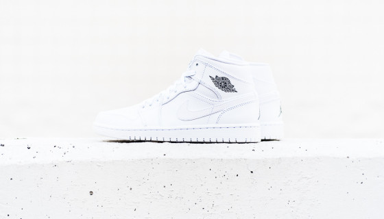 "Air Jordan 1 Mid ""White/Cool Grey"" – Disponible"