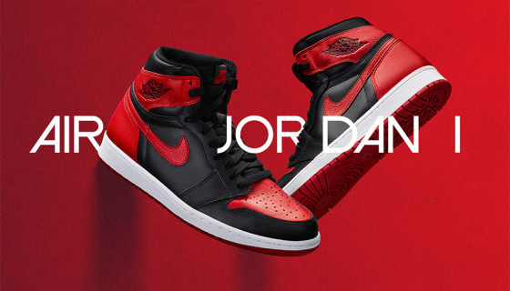 Air Jordan 1 Retro High OG Bred : Photos Officielles