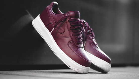 NikeLab Air Force 1 Low Night Maroon