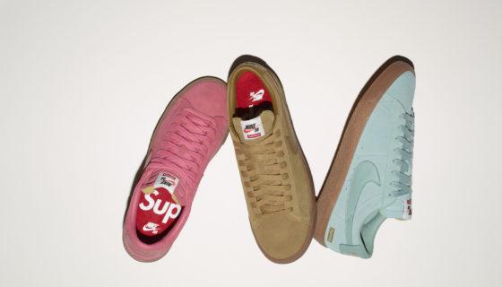 Supreme x Nike SB Blazer Low GT bientôt disponible sur le Nike Store