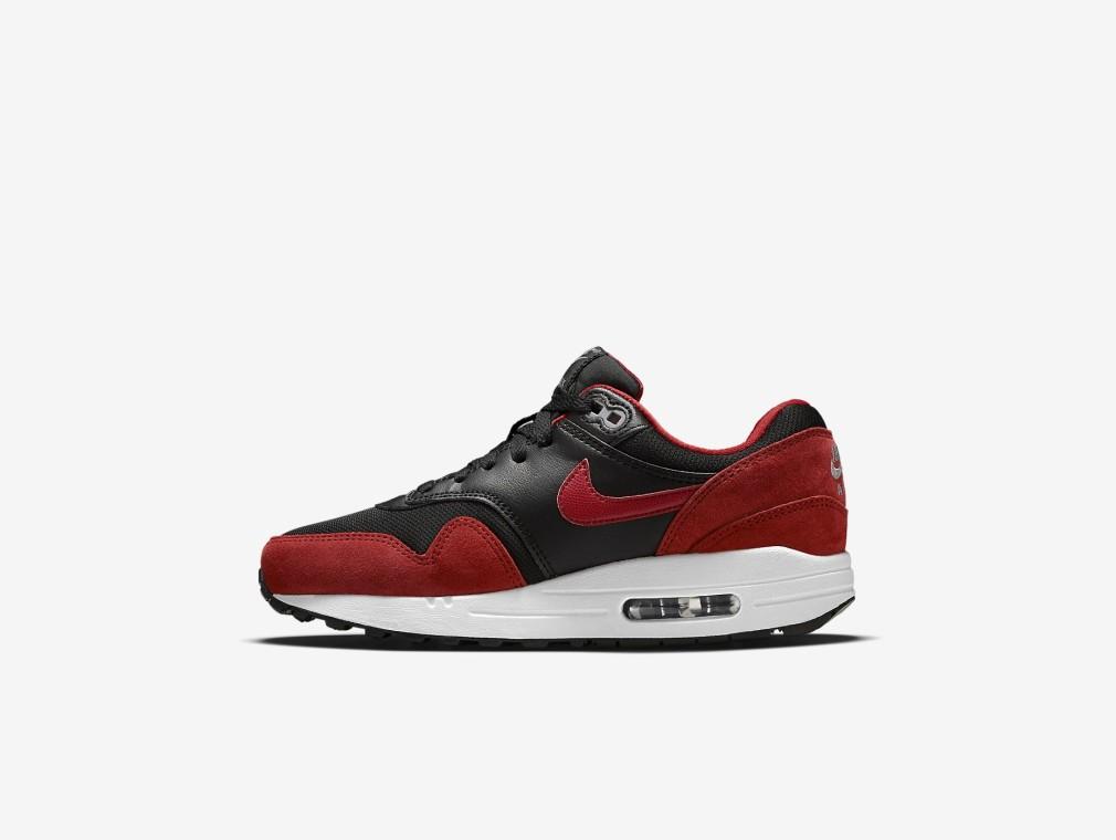"Nike Air Max 1 GS ""Bred"" Disponible"