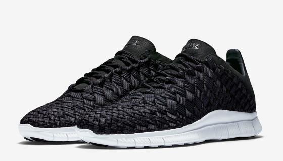 Nike Free Inneva Woven Black / White