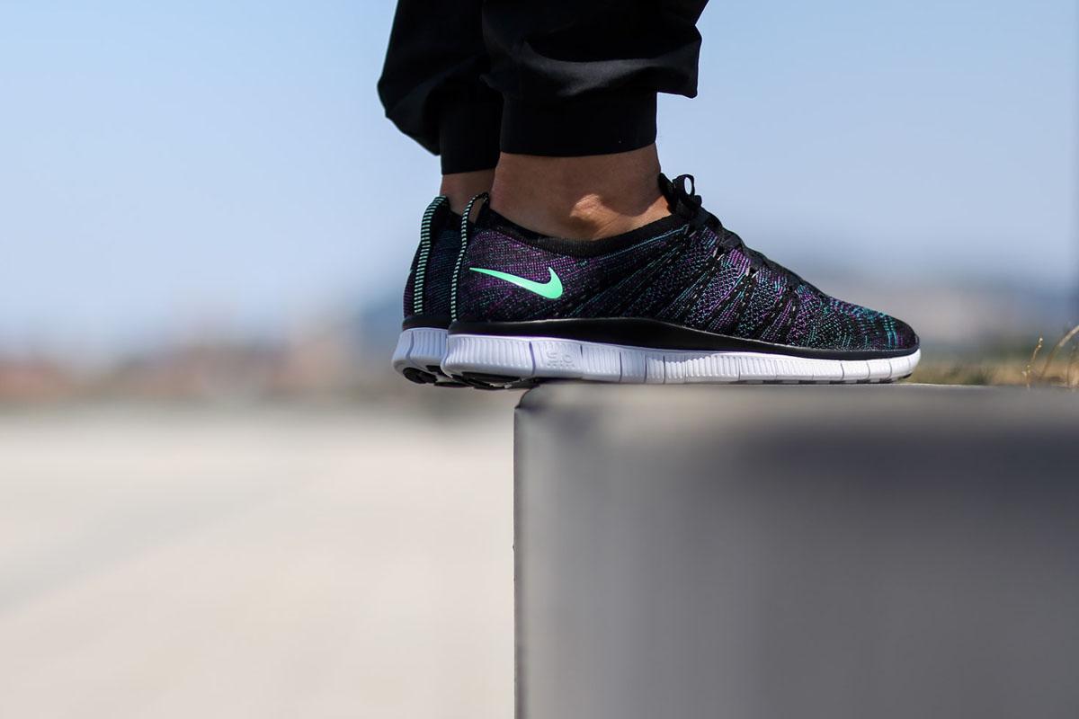 "Nike Free Flyknit NSW ""Radiant Emerald"""