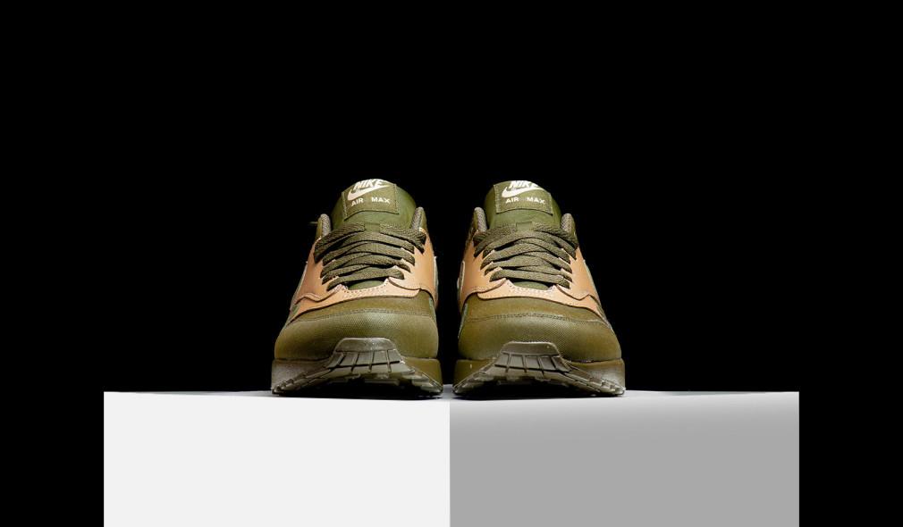 Nike Air Max 1 LTR Premium Dark Loden 2