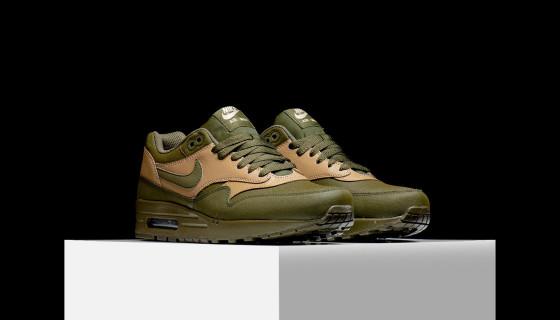 Nike Air Max 1 LTR Premium Dark Loden