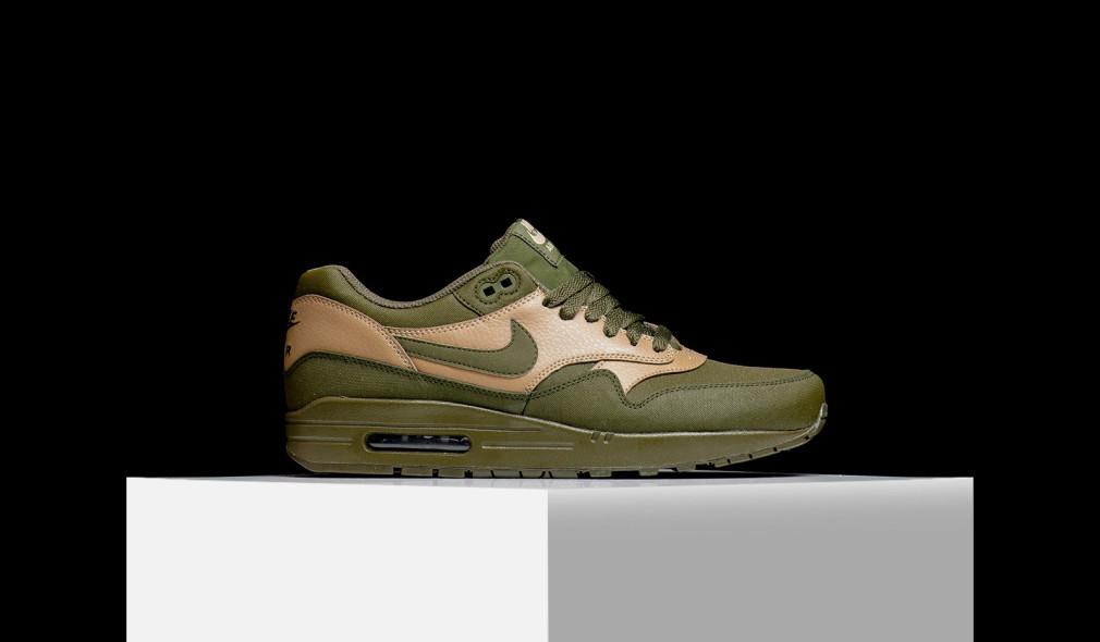 Nike Air Max 1 LTR Premium Dark Loden 1