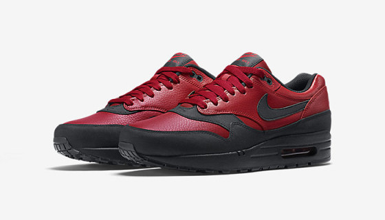 Nike Air Max 1 Premium Leather – Gym Red