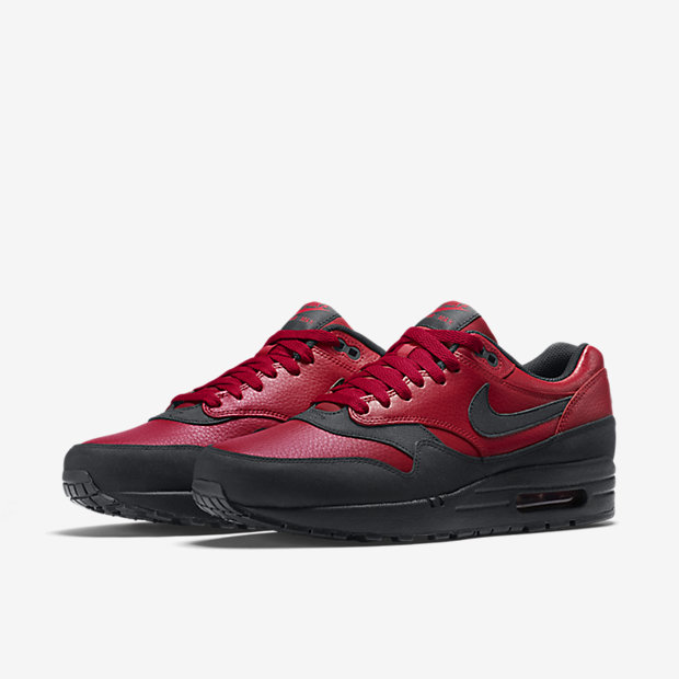 Nike Air Max 1 Premium Leather - Gym Red