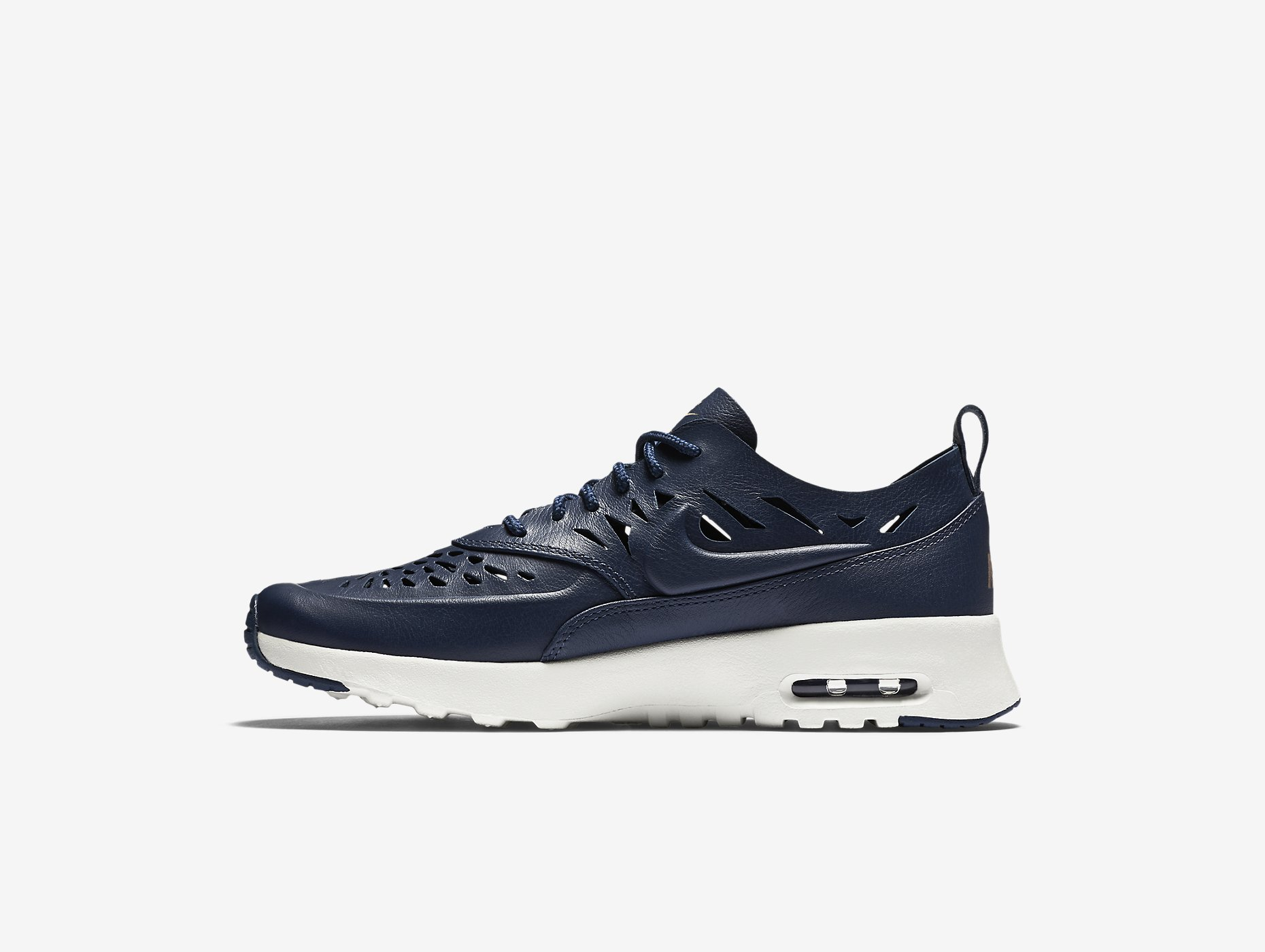 nike air max thea joli navy blue sneakers addict. Black Bedroom Furniture Sets. Home Design Ideas