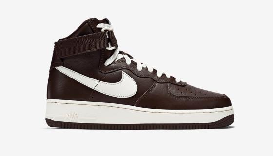 Nike Air Force 1 HI Retro QS Chocolate / Sail