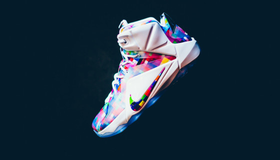 "Nike LeBron XII EXT ""Multi-Color"""