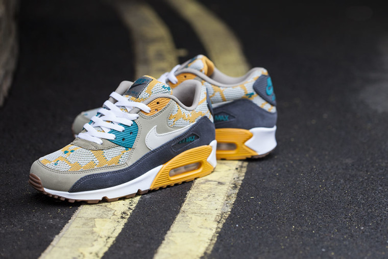 "Nike Air Max 90 PA ""Canyon Gold"" Gold/Light"