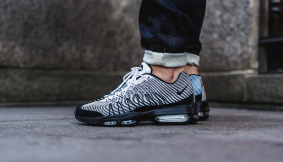 Nike Air Max 95 Ultra Jacquard Black/White