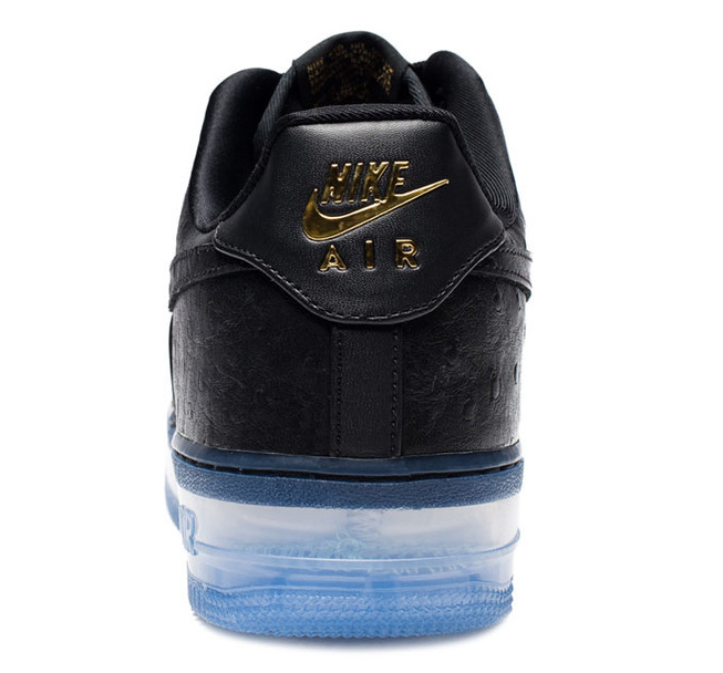 Nike Air Force 1 CMFT Lux Black Ostrich