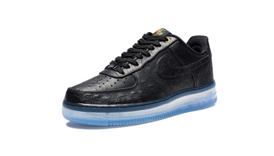 "Nike Air Force 1 CMFT Lux ""Black Ostrich"""
