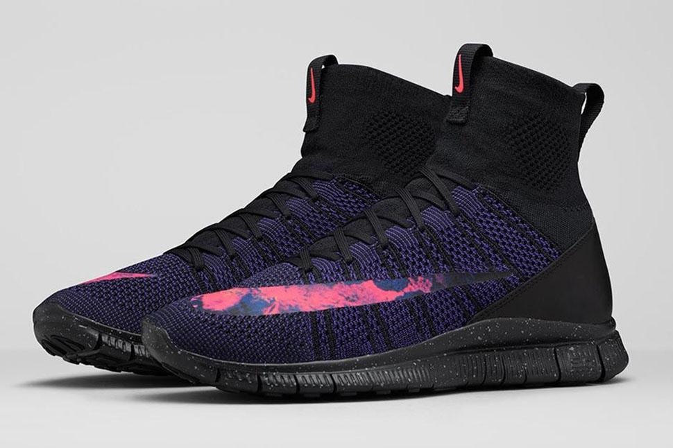 """Nike Free Flyknit Mercurial """"Volcano"""""""