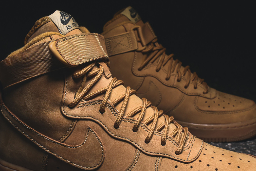 Nike Air Force 1 Hi - Flax