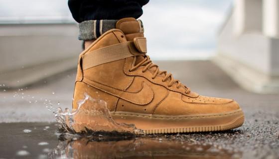 Nike Air Force 1 Hi – Flax
