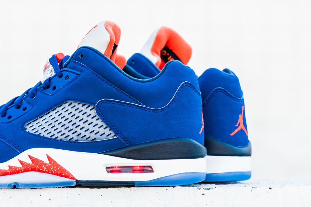 Air Jordan V Retro Low - 'Knicks'