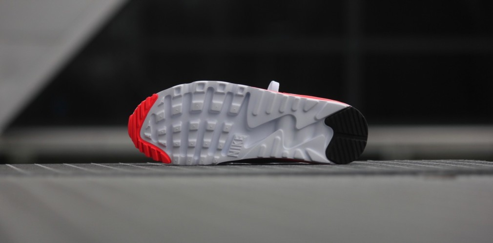 Air Max 90 Ultra Essential OG Infrared White/ CoolGrey