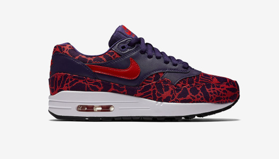 Nike Wmns Air Max 1 JCRD University Red