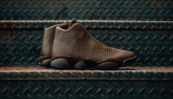 """Air Jordan Horizon Premium """"Brown Croc"""""""