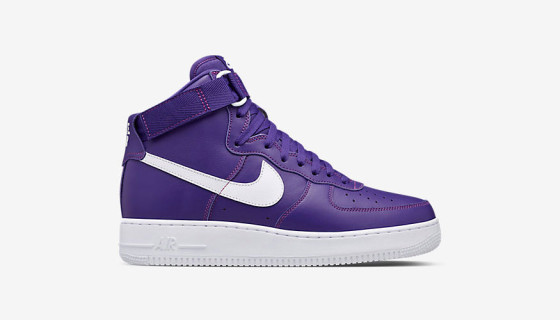 Nike Air Force 1 High Varsity Purple Leather