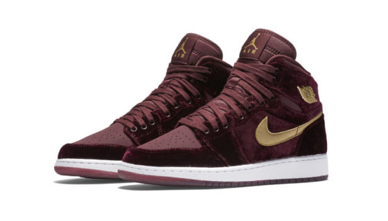 Air Jordan 1 Heiress Velvet