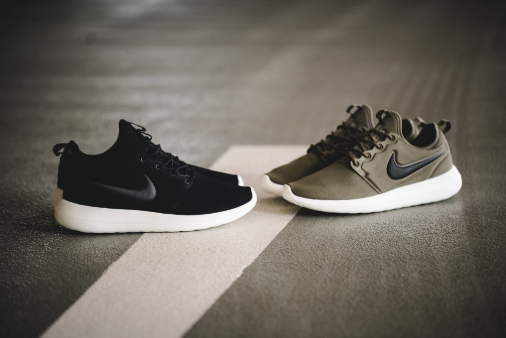 Nike Roshe Two Breathe Men's Shoe in Black for Men Lyst