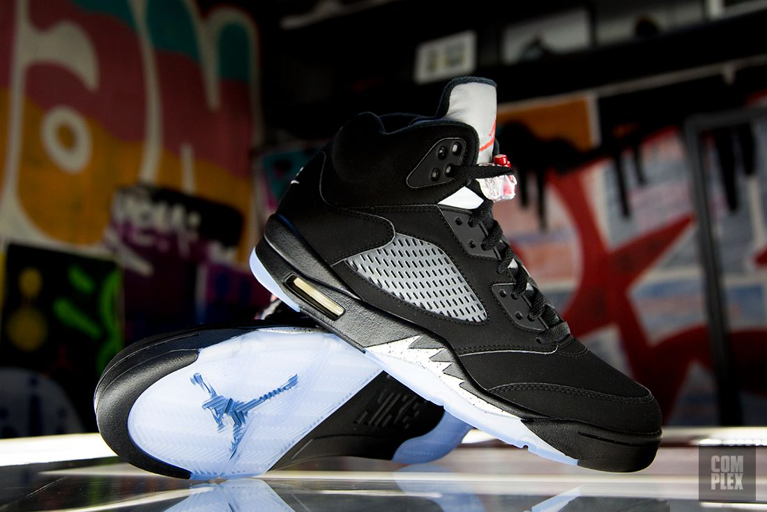 new arrival fc74d e92c4 air jordan 8 viii retro 2016 black white with certificate of air freight