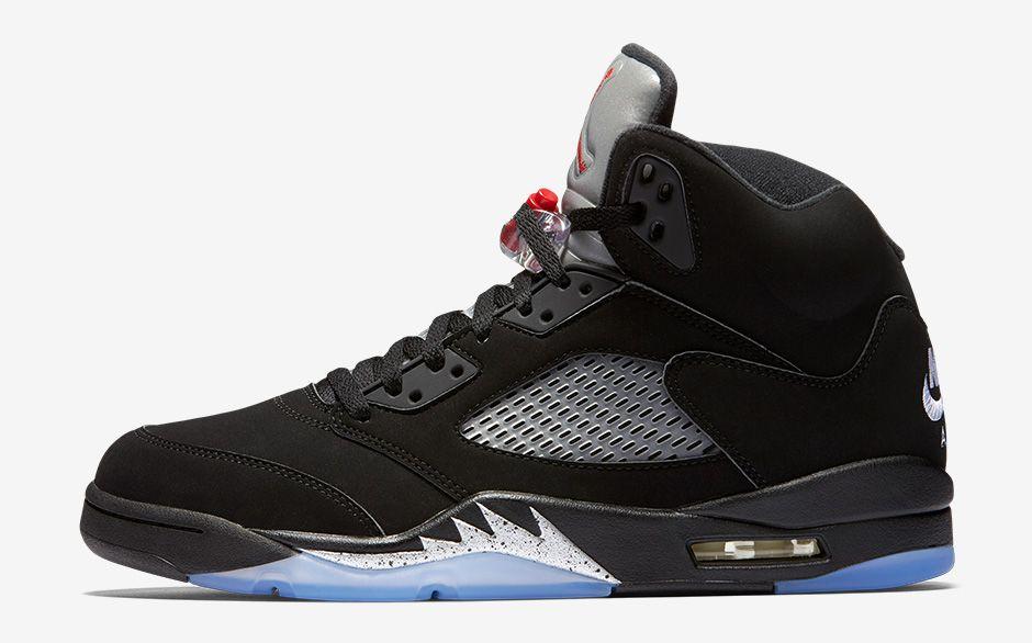 "timberland bas - Nike Air Jordan 5 ""Black Metallic"" Retro 2016"