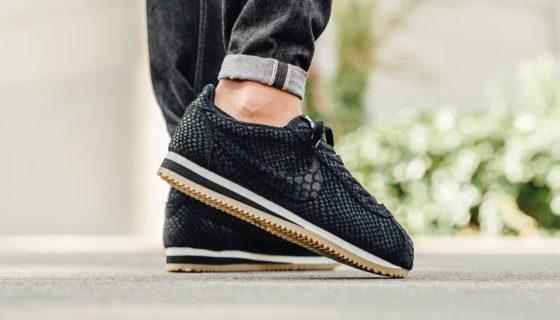 "Nike Cortez Leather Premium ""Black Anaconda"""